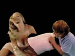 Oliver  Laric, Touch my Body (Green Screen Version), 2008, multiple channel video, duration variable.
