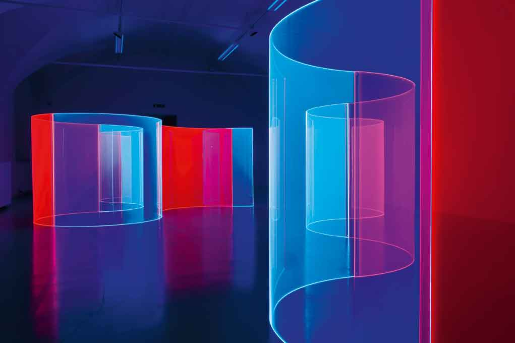 Artpulse magazine features provoking emotion with form for Forme in plexiglass