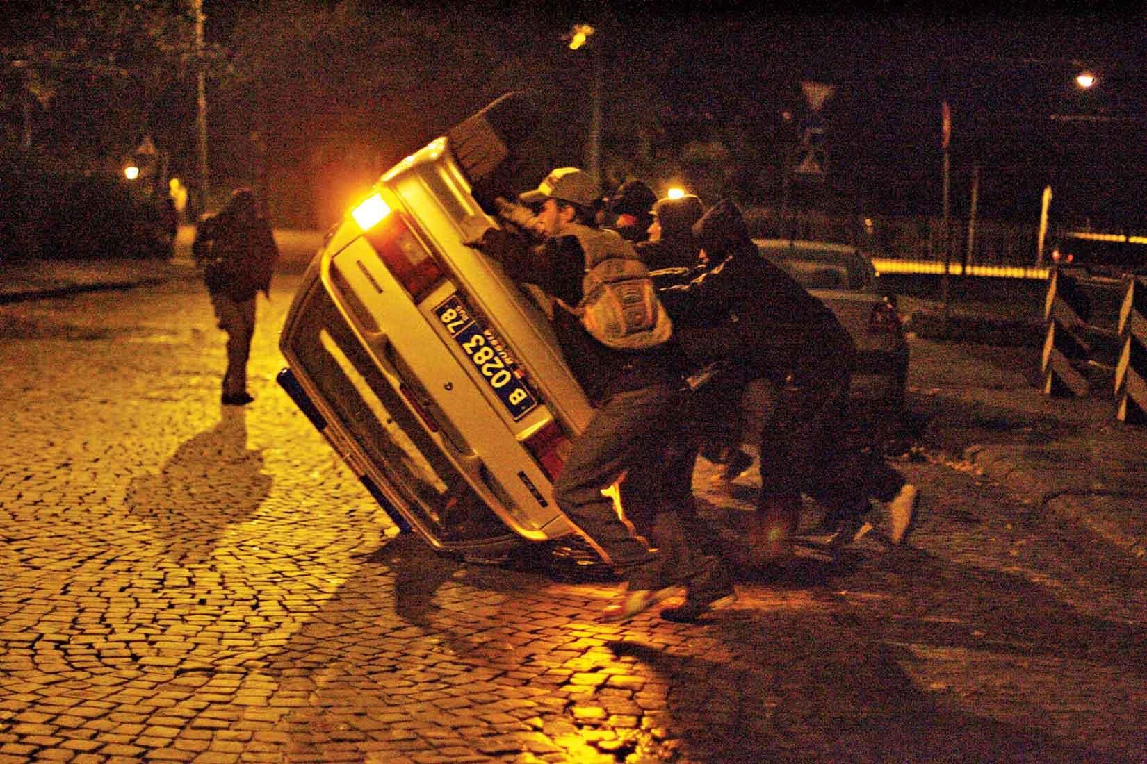 The Palace Revolution, September 2010, St. Petersburg.