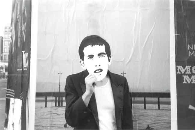 "Emily Roysdon, Untitled (Pier) from Untitled (David Wojnarowicz project), 2001-2007, silver gelatin print, 11""x14"". Courtesy of the artist."