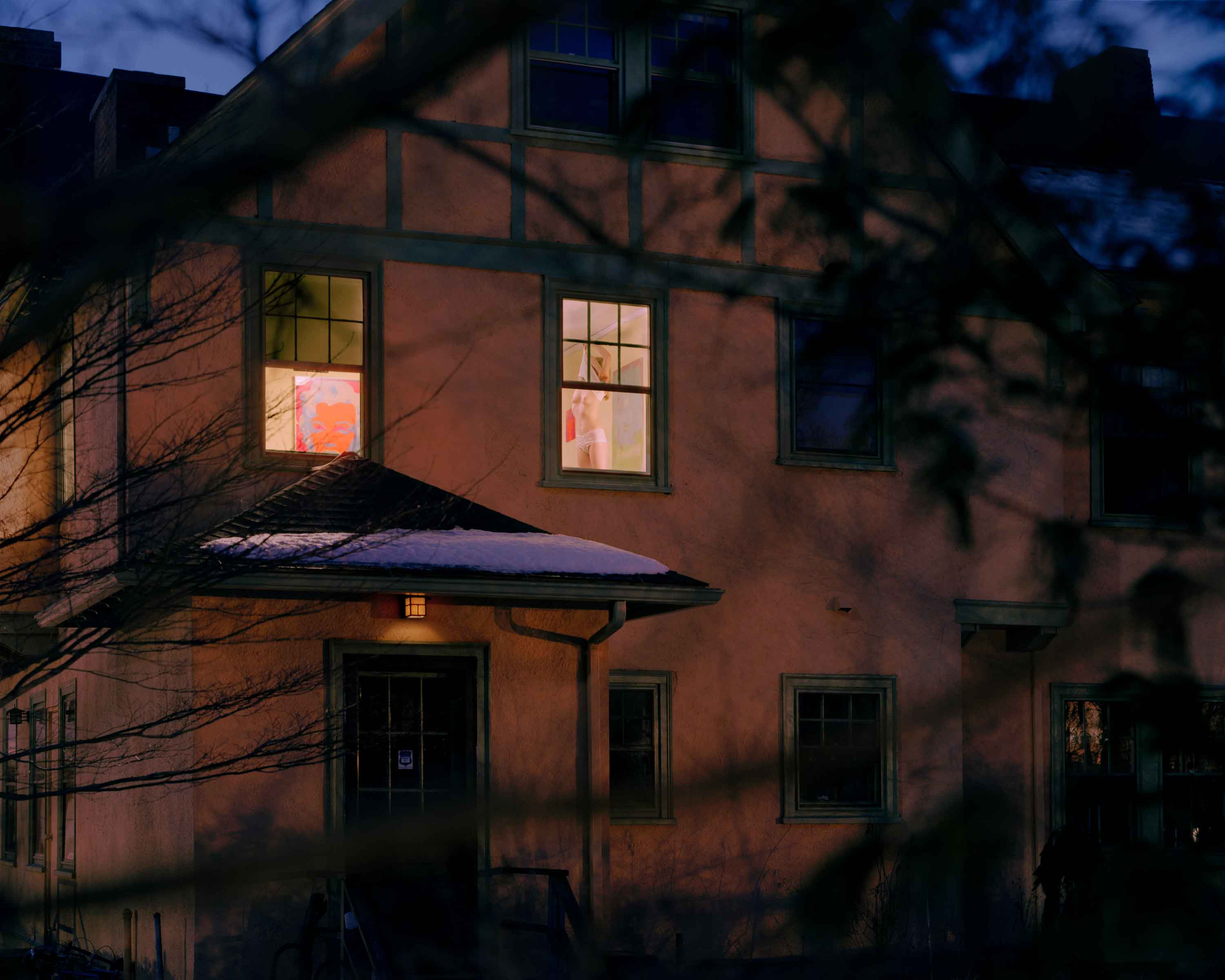 "Angela Strassheim, Untitled (Isabel at the Window), 2005, C-print, 40"" x 50 "", archival pigment print, from Left Behind series"
