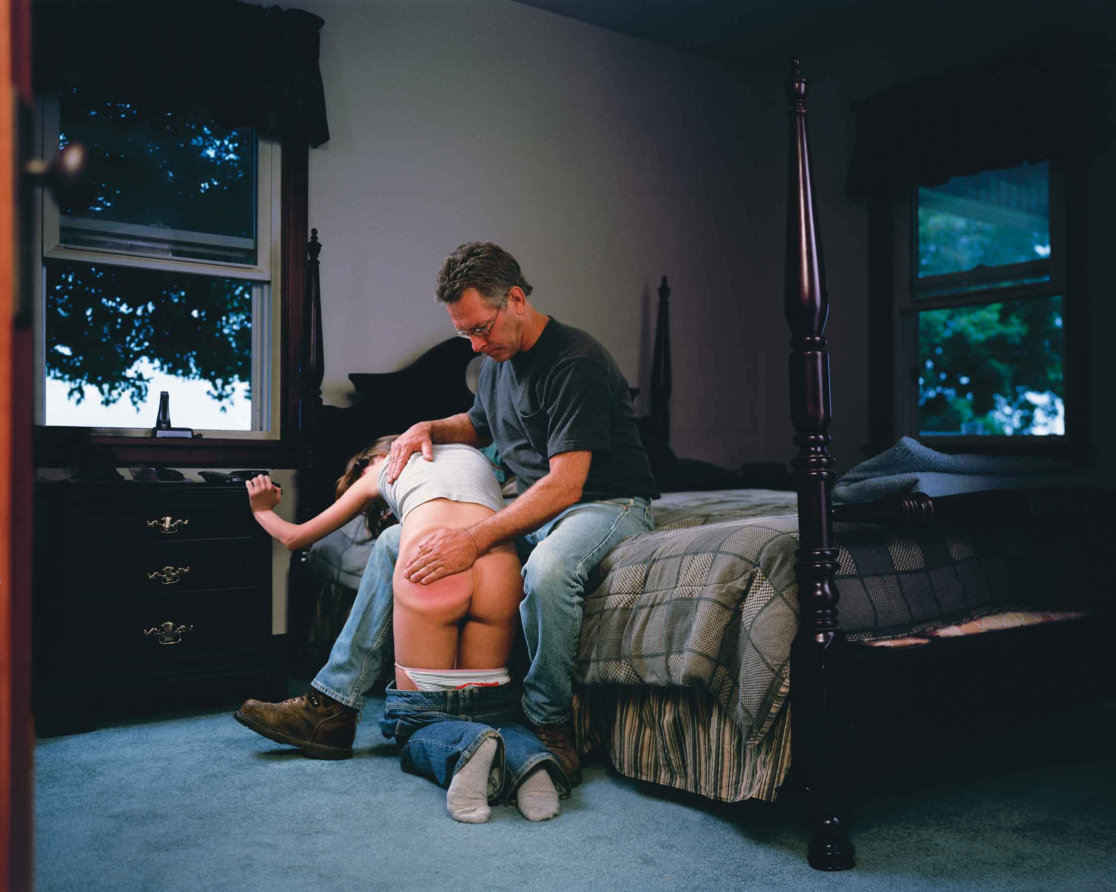 "Angela Strassheim, Untitled (The Spanking), 2006, archival pigment print, 30""x40"" (from the Pause series). All images courtesy of the artist."
