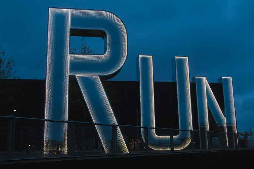 Monica Bonvicini, Run, 2012. Courtesy of the artist.