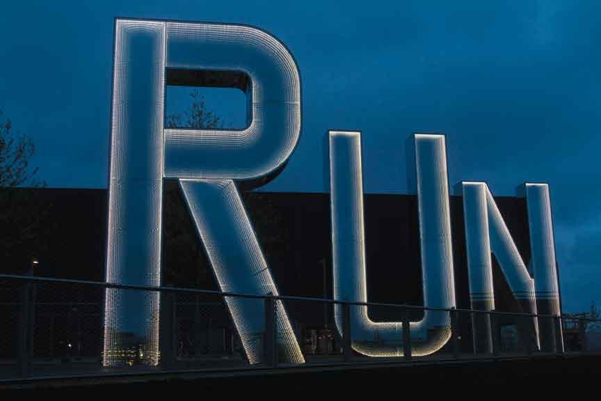 Monica Bonvicini, Run, 2012. Courtesy of the artist.