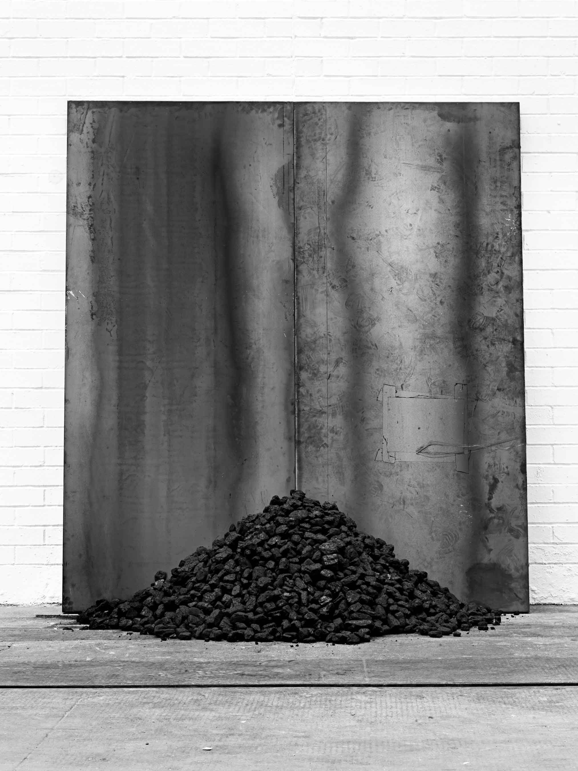Jannis Kounellis, Untitled, 2012. Tramway, Glasgow. Photo: Manolis Baboussis.