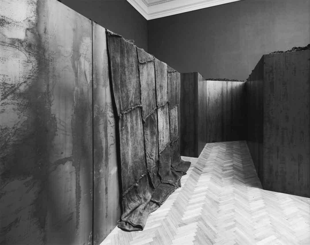 Jannis Kounellis, Untitled, 2002. Galleria Nazionale d' Arte Moderna, Rome. Photo: Claudio Abate.