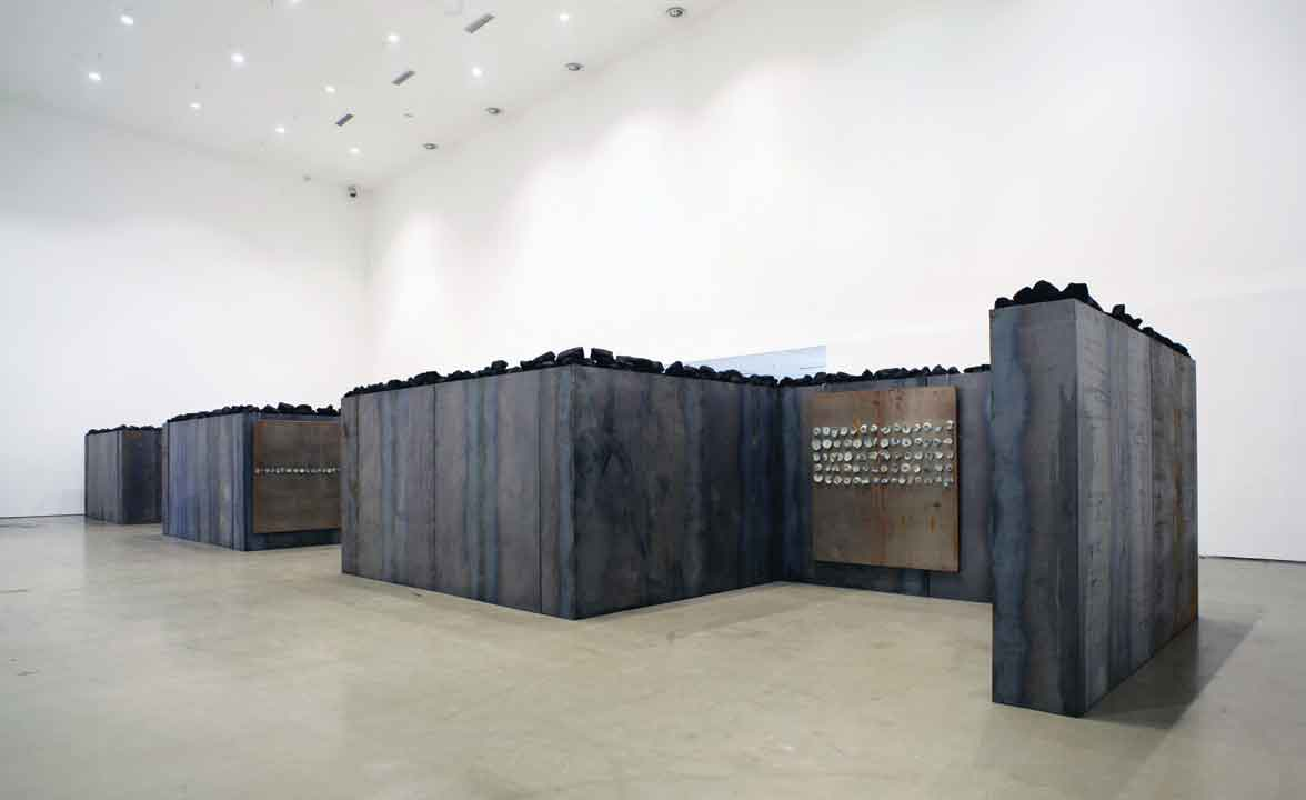Jannis Kounellis, Untitled, 2011. Today Museum, Beijing. Photo: Manolis Baboussis.