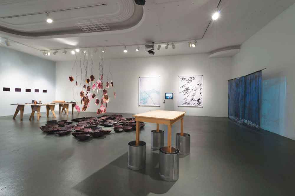 """(Re-) Cycles of Paradise"", exhibition view. Photo: Joshua White. Courtesy LACE."