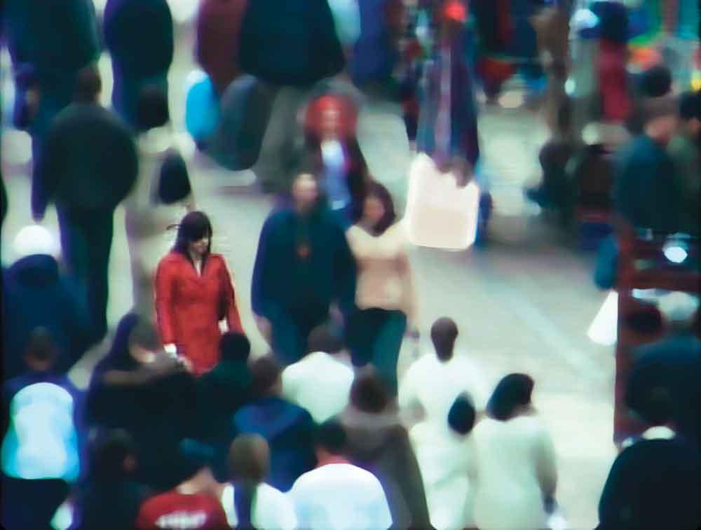 Jill Magid, Trust, 2004, Evidence Locker, DVD, edited CCTV footage and audio, 18 min.