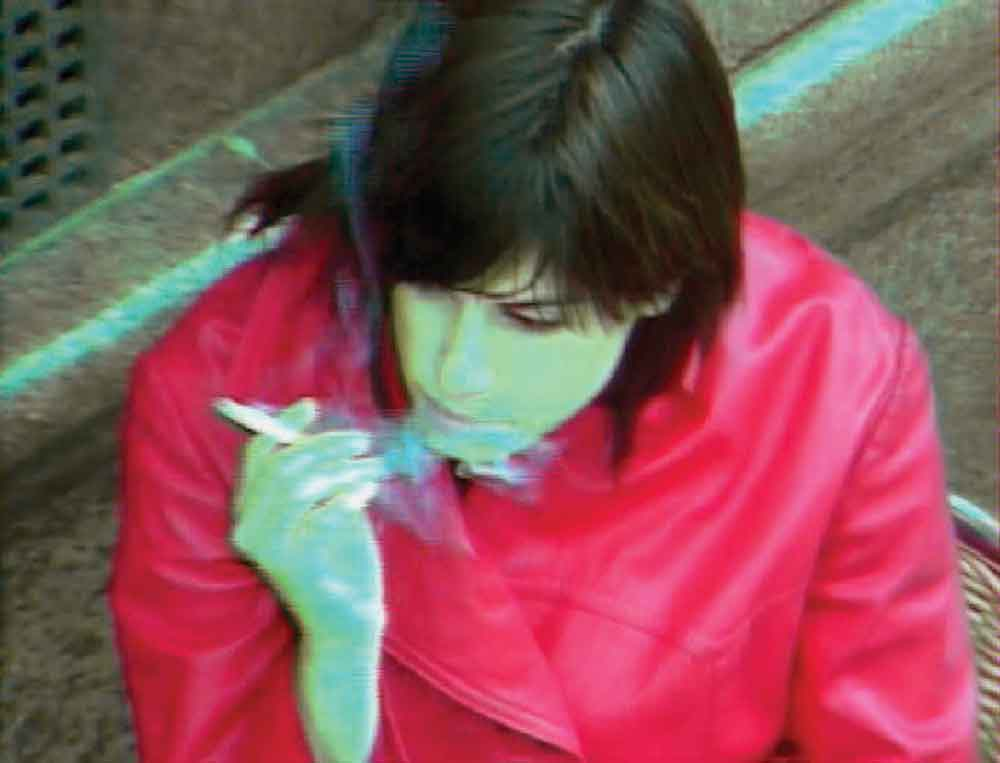 Jill Magid, Control Room, 2004, Evidence Locker, two-channel DVD, edited CCTV footage 10 min. loop.