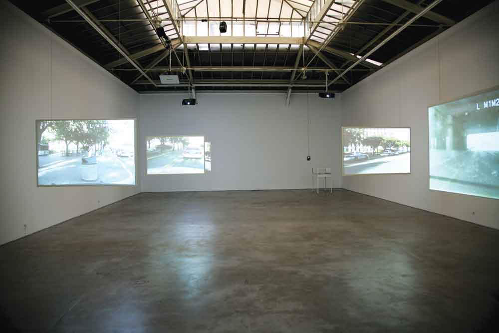 "View of the exhibition ""The Status of the Shooter,"" 2012. Galerie Yvon Lambert, Paris. Courtesy of the artist and Galerie Yvon Lambert, Paris. Photo Didier Barroso."