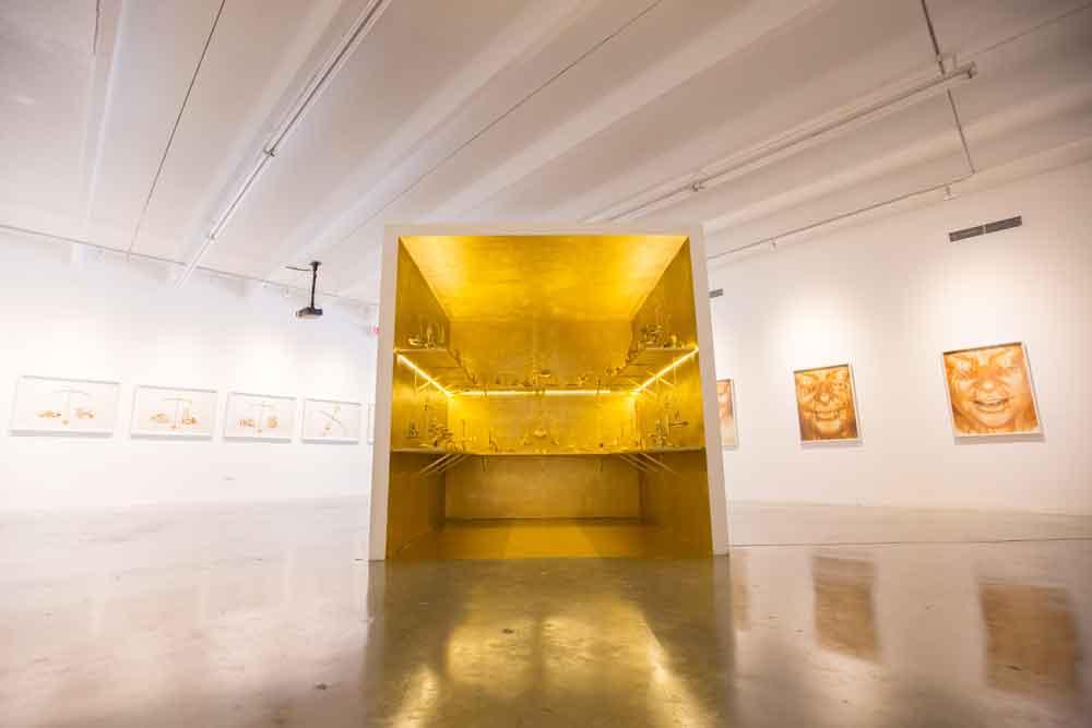 Nina Dotti, A matter of balance, 2013, installation view. Photo: Catalina Ayubi. Courtesy of Dot Fiftyone Gallery.