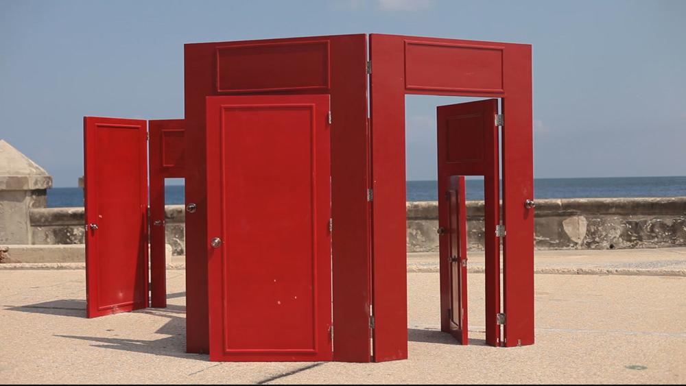 Rafael Domenech, Possible Chances, 2012, mixed media installation.