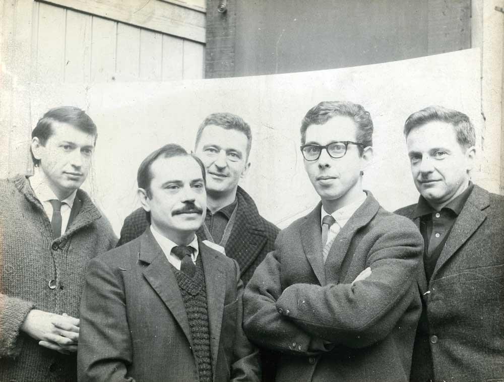 GRAV: Julio Le Parc, Francisco Sobrino, Joel Stein, Jean-Pierre Yvaral, François Morellet, 1966.