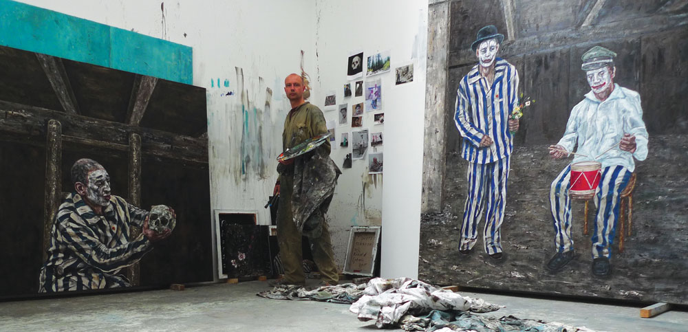 Ronald Ophuis at his studio, 2015. Courtesy the artist.