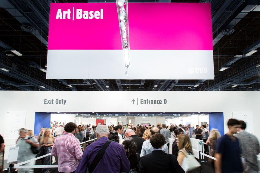 Art Basel Miami Beach 2014. © Art Basel.