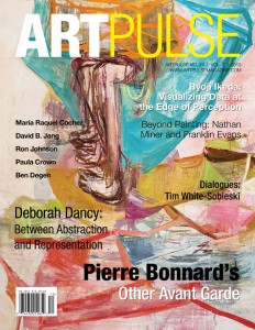 "Front Cover: Deborah Dancy, Easy Rider, 2012, (detail), oil on canvas, 60"" x 60."" Courtesy of N'Namdi Contemporary, Miami."
