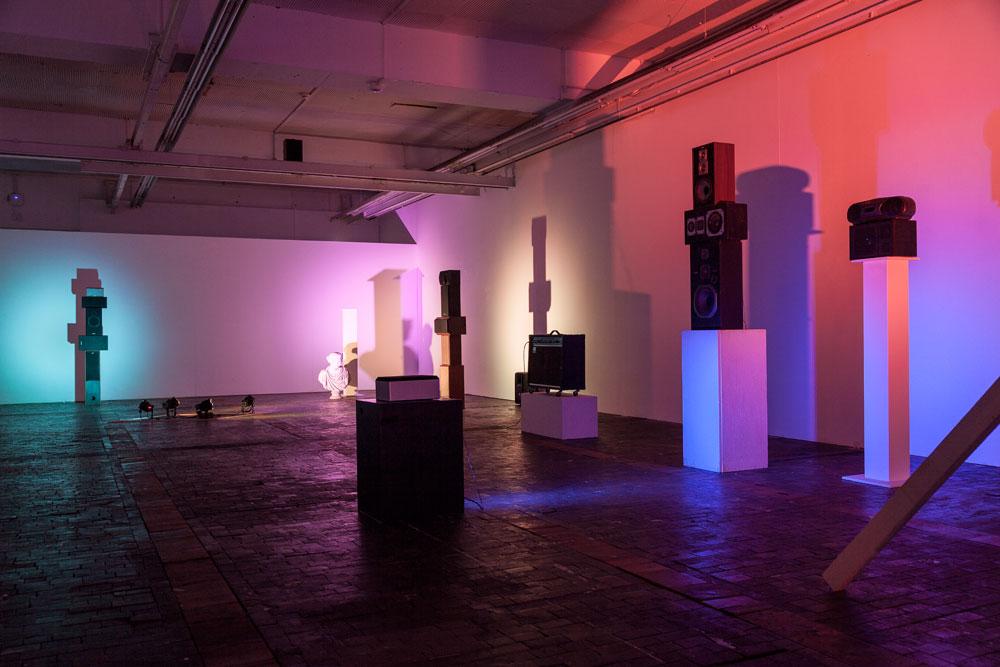 Brian Eno The Ship, 2016, installation view, sound, Le Commun, Geneva. Photo: Nathalie Rebholz