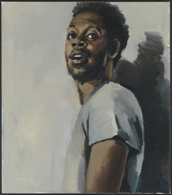 Lynette Yiadom-Boakye, A Radical Under Beechwood, 2015. Courtesy: Corvi-Mora, London and Jack Shainman Gallery, New York. Copyright the artist. Photography: Marcus Leith, London.