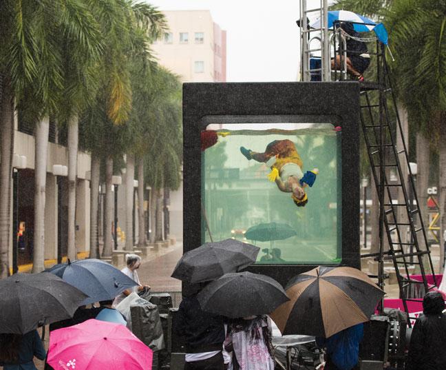 Lars Jan, HOLOSCENES installation view. Art Basel Miami, 2015. Photo: Lars Jan.