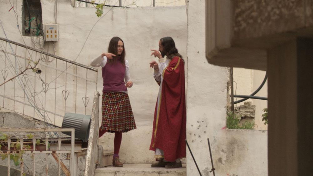 Katarzyna Kozyra, Looking for Jesus, 2012, video, project supported by ATLAS SZTUKI (PL), W&W A LIMITED LIABILITY COMPANY (DE), PASTWOWA GALERIA SZTUKI W SOPOCIE (PL), © Katarzyna Kozyra Foto: Katarzyna Szumska, Courtesy of the Katarzyna Kozyra Foundation