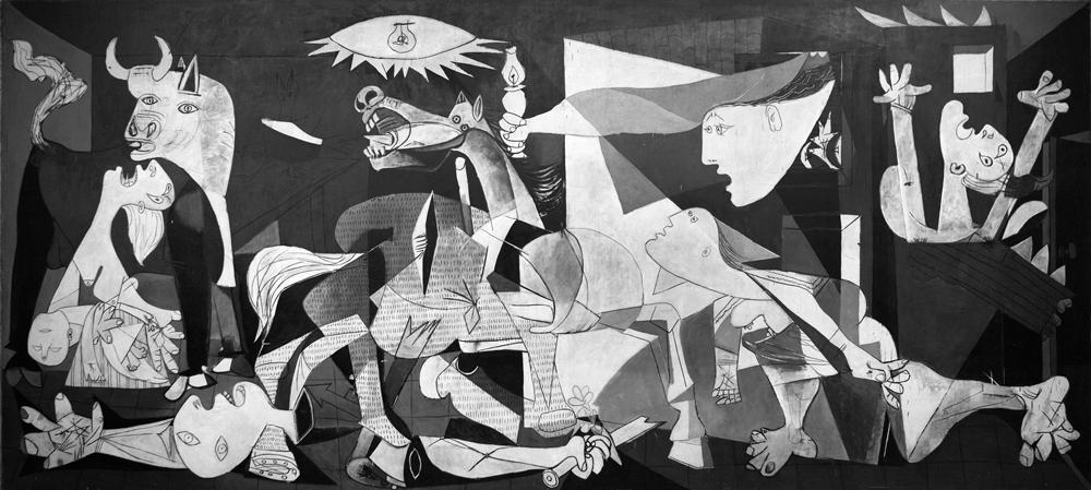 Pablo Picasso, Guernica, 1937. Photo: Manuel Galrinho. Source: www.flickr.com/photos/galrinho/5410199284