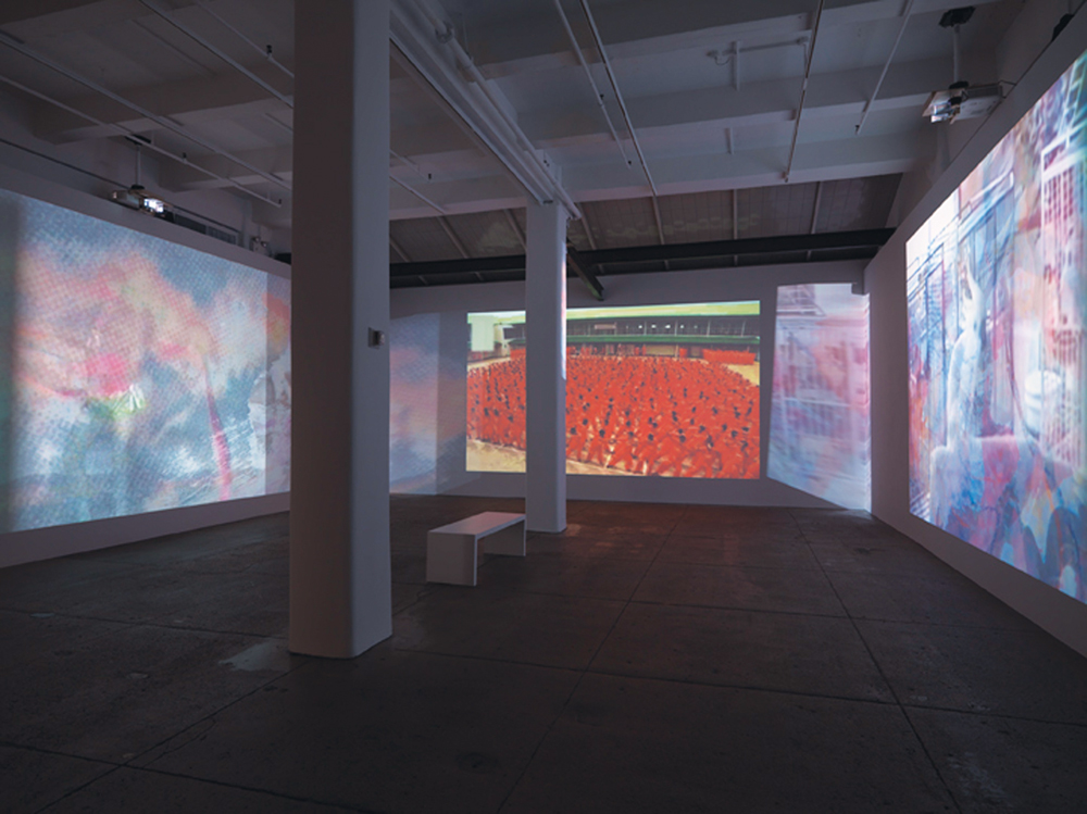 """Carolee Schneemann: Further Evidence. Exhibit B"" at Lelong Gallery, New York. On view from October 21 to December 3, 2016, installation view. Courtesy of the artist."