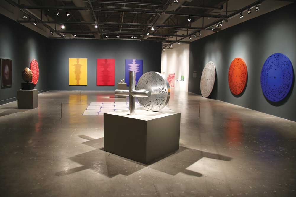 """""""The Other Dimension,"""" an exhibition by Antuan Rodriguez at Museum of Contemporary Art, North Miami. Courtesy of the artist."""