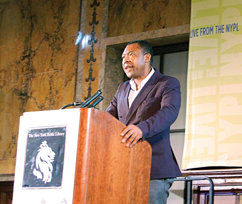 Okwui Enwezor in New York City, 2009. Photo: Andrew Russeth.