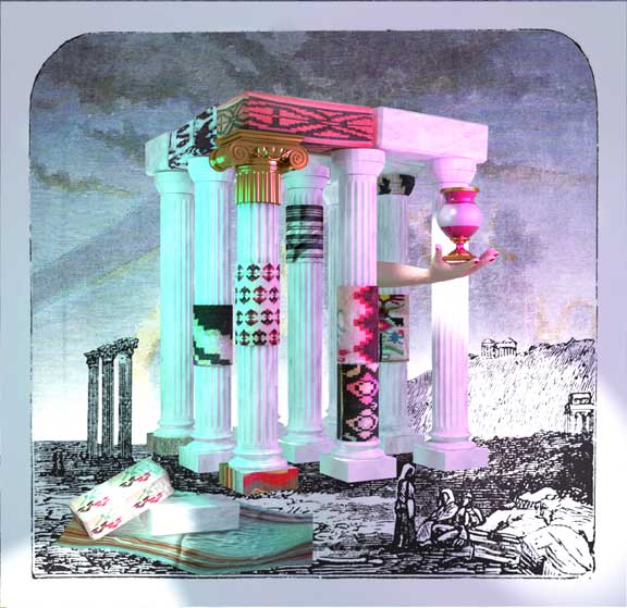 Andreas Angelidakis, Study for Crash Pad, 2013, digital collage. All images courtesy of the artist.